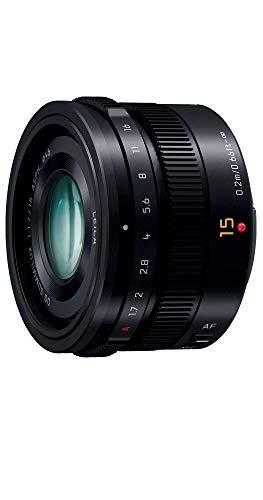 パナソニック 単焦点 広角レンズ マイクロフォーサーズ用 ライカ DG SUMMILUX 15mm/F1.7 ASPH. ブラック H-...
