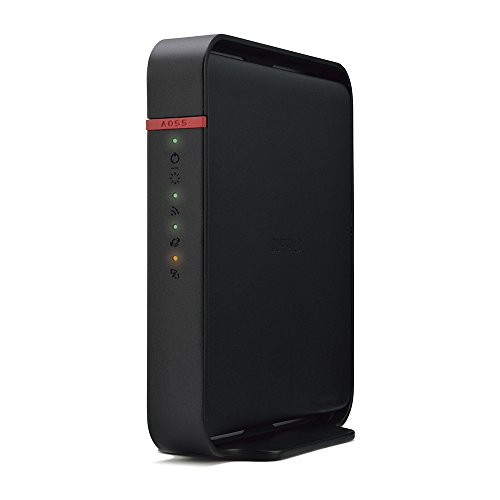 BUFFALO WiFi 無線LAN ルーター WHR-1166DHP4 11ac 866+300Mbps 3LDK 2階建向け 【iPhone8/iPhoneX/Echo メ...