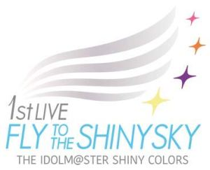 THE IDOLM@STER SHINY COLORS 1stLIVE FLY TO THE SHINY SKY【Blu-ray】