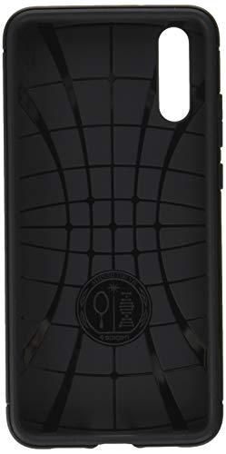 【Spigen】 スマホケース Huawei P20 ケース 対応 TPU 米軍MIL規格取得 マット仕上げ ラギッド・アーマー L...