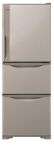 日立 冷蔵庫 265L 3ドア 右開き スリム幅54cm R-27HV T