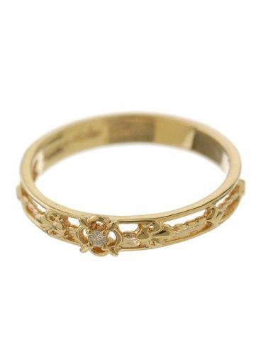 AHKAHのリングはシンプルで母親に喜ばれるギフト