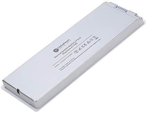 【増量】 Apple アップル Mac Book 13インチ用A1181 A1185 MB063J/A 対応用 ホワイト/シルバー 【松下6セル...