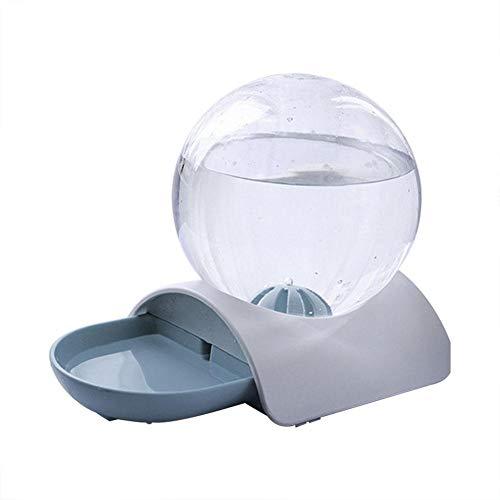 ペット給水器 球形 自動給餌 猫 水ディスペンサー 大容量 2.8L 水差しが付いている 給餌器 非散水 お留守番...