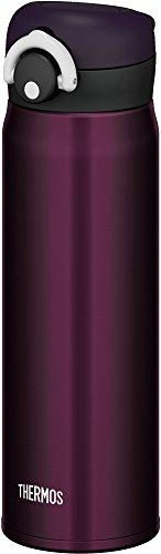 サーモス 水筒 真空断熱ケータイマグ 【ワンタッチオープンタイプ】 500ml ミッドナイトブラック JNR-500 M-BK