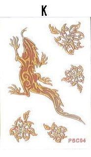 PLATA  プラタ  【K】 和柄 デコレーション シール 【 爬虫類 】