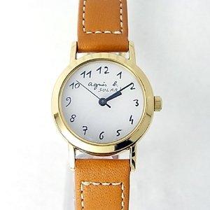 アニエスベーの時計を彼女にプレゼント
