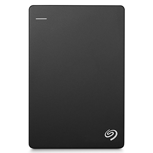 "Seagate Backup Plus Portable 1TB HDD 【2018モデル】バックアップソフト付 2.5"" 外付 電源不要 Mac PS4対応 3年保証 黒 STDR1000300"