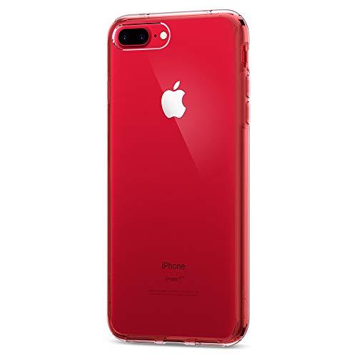 【Spigen】 iPhone 7 Plus ケース, ウルトラ・ハイブリッド  米軍MIL規格取得 落下 衝撃 吸収  アイフォン 7 プラス 用 カバー (iPhone7 Plus, クリスタル・クリア)