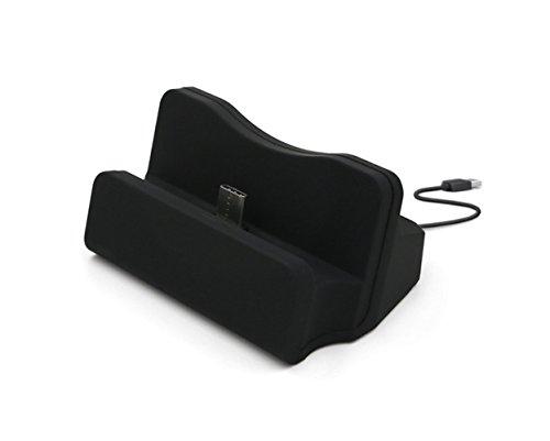 Xperia XZ / Xperia X Compact / Xperia XR 卓上ホルダー 【KuGi】 Type-C 充電 卓上ホルダー 充電スタンド クレードル 充電器 ソニー Xperia X シリーズ / au LGV34 isai Beat / ドコモ V20 PRO L-01J など 対応 USB Type-C クレードル ドック ケース付けても使用可能 ブラック