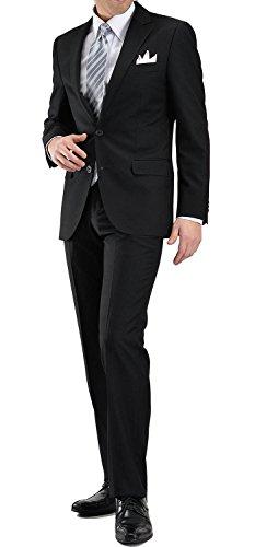 BLACK FORMALブラックフォーマルスーツT/R2ツボタンメンズ冠婚葬祭 礼服 喪服YA-7号L-AZLFM-04-990-YA7