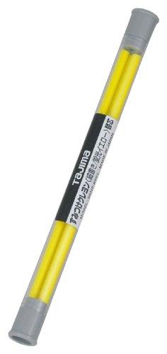 タジマ すみつけクレヨン(細書き4.0mm) 蛍光イエロー替芯(3本入) SKHS-KYEL