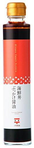 平野醤油 海鮮丼ぶっかけしょうゆ 200ml スマート 瓶