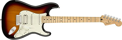 Fender エレキギター Player Stratocaster® HSS, Maple Fingerboard, 3-Color Sunburst