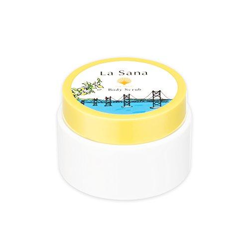 【新発売】ラサーナ La sana 海藻 ボディ スクラブ 100g 限定 瀬戸内レモンの香り ボディケア 日本製 (約1ヵ月分)
