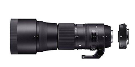 SIGMA 超望遠ズームレンズ Contemporary 150-600mm F5-6.3 DG OS HSM テレコンバーターキット ニコン用 フルサイズ対応