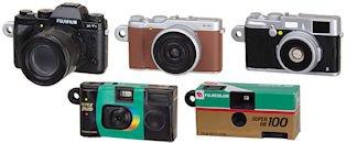 FUJIFILM 富士フィルム ミニチュアカメラコレクション ガチャ おもちゃ タカラトミーアーツ (全5種フルコンプセット)