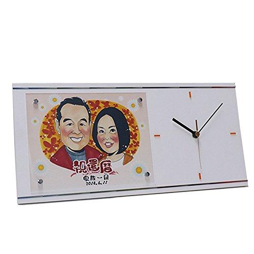 両親の似顔絵入り時計は結婚式の記念に人気のギフト