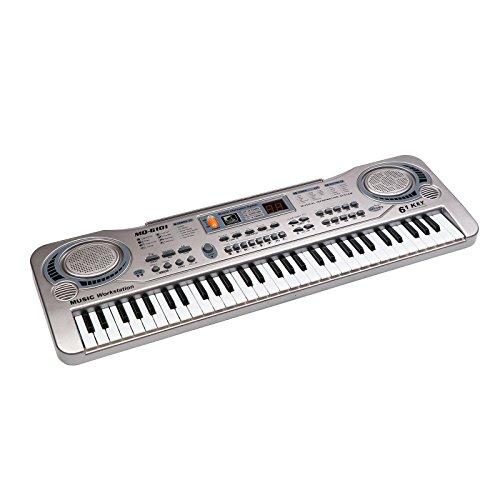 音楽能力を高めるキーボードを4歳の女の子にプレゼント