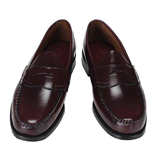 G.H.BASS G.H.バス Penny Loafer (LOGAN) ペニーローファー(ローガン) Burgundy バーガンティ ローファー 革靴 [並行輸入品]