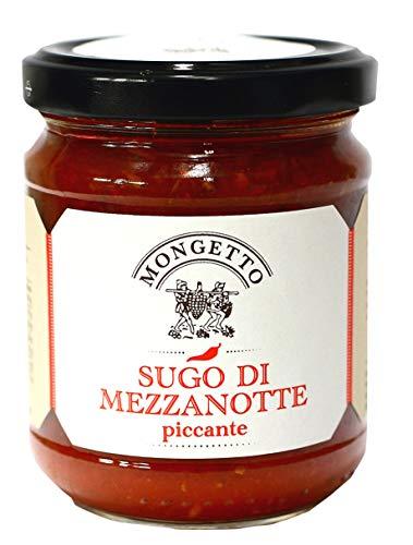 深夜のソース 180g イル・モンジェット社 イタリア産 (Italian Pasta Sauce Sugo di Mezzanotte/Midnight Sauce)
