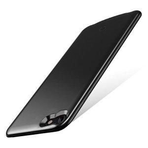 バッテリーケース 超薄 軽量 スリム iPhone7/iPhone8兼用 ケース型バッテリー 急速充電 大容量 車載ホルダー対応 バッテリー内蔵ケース アイフォンケース (iPhone8/iPhone7 , ブラック)