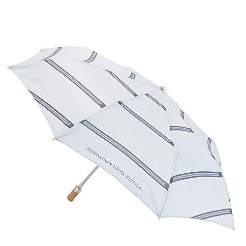 フォンダシオン ルイ・ヴィトンの限定グッズの雨傘を奥様に贈る