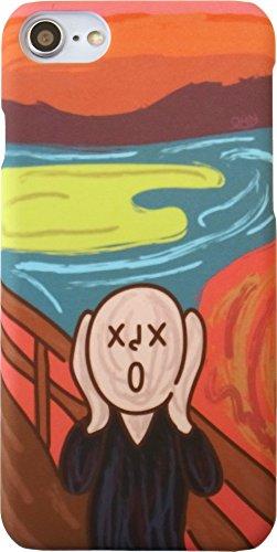★液晶保護フィルム付き★ Famous Paintings iPhone8 / iPhone7 4.7inch ケース (Munch ムンク) [並行輸入品]