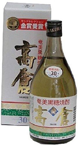 奄美大島酒造 奄美黒糖焼酎 高倉 30度 瓶 720ml