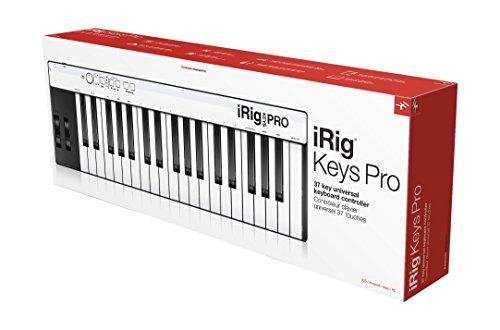 IK Multimedia iRig Keys PRO  iOS,Android,Mac/Win対応フルサイズ・キーボード【国内正規品】 【徹底紹介】中田ヤスタカのDTM機材を紹介! Cubase、Universal Audio Apollo Twin、GENELEC 8351A、KOMPLETE KONTROL S61 MK2を使用!(自宅スタジオ)