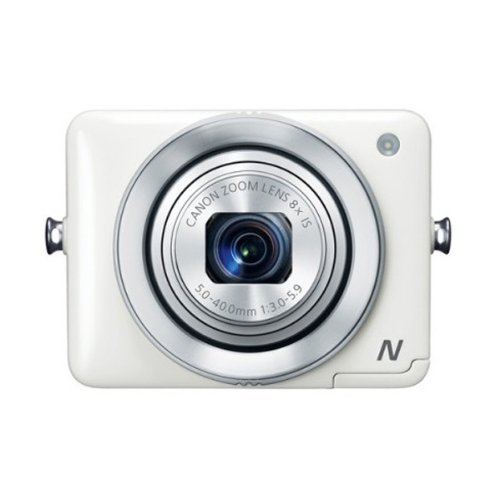Canon 【並行輸入品】 PowerShot N 12.1 MP CMOS Digital Camera with 8x Optical Zoom and 28mm Wide-Angle Lens (White)