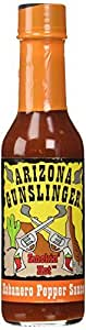 Arizona Gunslinger's Habanero Pepper Sauce (1) 5 oz. by Arizona Gunslinger [並行輸入品] | 食品・飲料・お酒 通販