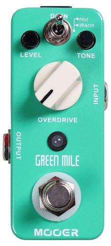 【国内正規品】 Mooer ムーアー Micro Series 2モードオーバードライブ Green Mile MOOER エフェクター のコピー元一覧! 元ネタはあの名機!!