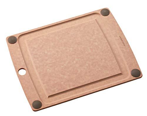 エピキュリアン 調理用まな板 ナチュラル M オールインワンボード グリップ付 505-120901002-Y