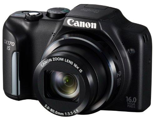 Canon デジタルカメラ PowerShot SX170 広角28mm 光学16倍ズーム PSSX170IS