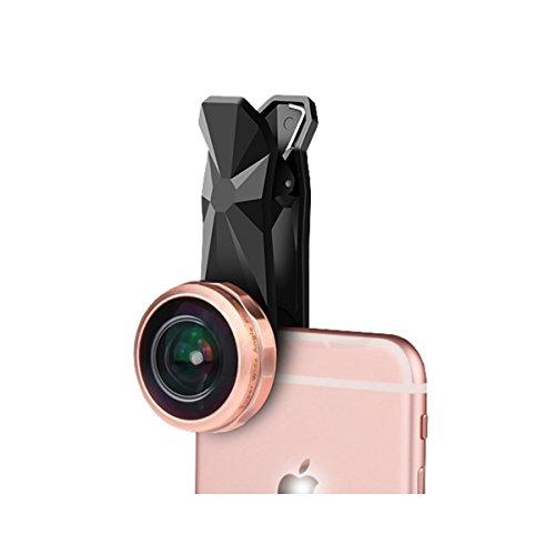 238°超広角レンズ 魚眼レンズ カメラレンズキット 高透明度 iPhone/HTC/Android タブレットPCなど対応 100均のスマホレンズ(魚眼)を買う時の注意点! レンズ初心者が勘違いしやすいポイント。