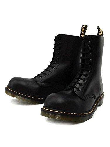 [ドクターマーチン] 1919Z 10EYE STEEL TOE BOOTS 10ホール スチール入り ブーツ BLACK ブラック UK6(約25cm)