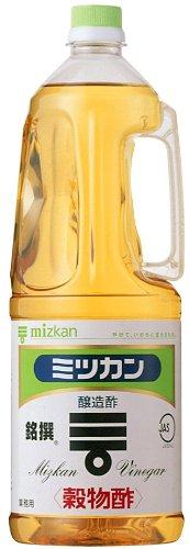 ミツカン 穀物酢(銘撰)ペットボトル 1800ml