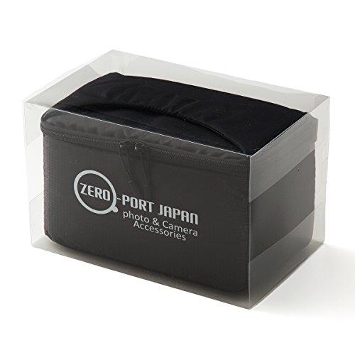 ZEROPORT JAPAN 一眼レフ カメラバッグ インナーバッグ ソフトクッションボックス インナークッションケース 撥水加工 ブラック ALIBAGINBAGZPJ23HASSUIBLACK