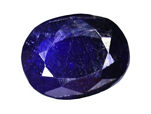 宝石最高品質認定ブルーカラーサファイア原石3.40Carat