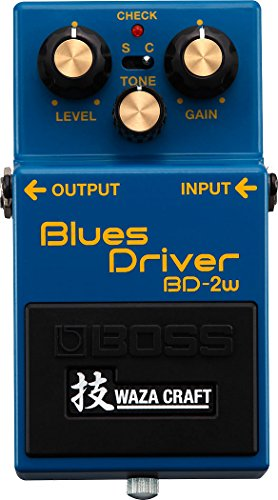 BOSS ボス Waza Craftシリーズ Blues Driver BD-2W(J) 【徹底紹介】田渕ひさ子のエフェクターボード・機材を解析!ツマミ・ノブの位置も分かる!ギターを支える足元の機材の数々を紹介! #田渕ひさ子 #ナンバーガール #ギター #エフェクター【金額一覧】