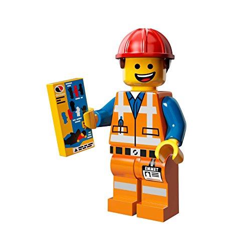 【ブロック-ミニフィグ】 71004-3 レゴ ミニフィギュア シリーズ レゴ・ムービー ヘルメットを被ったエメット / LEGO Minifigures Series The LEGO Movie Hard Hat Emmet[ヘッダー付パッケージ仕様]