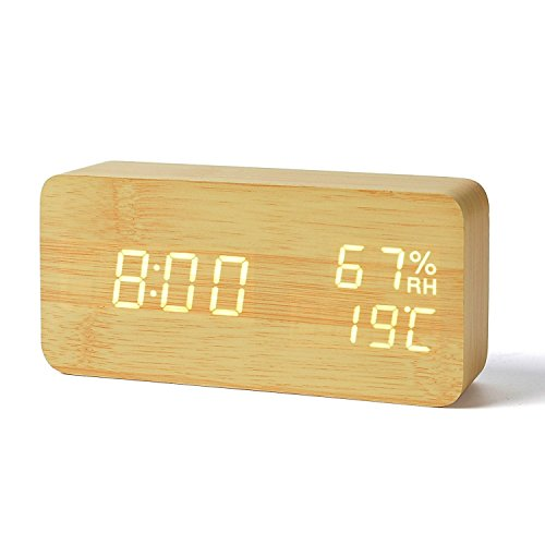 FiBiSonic® デジタル 置き時計