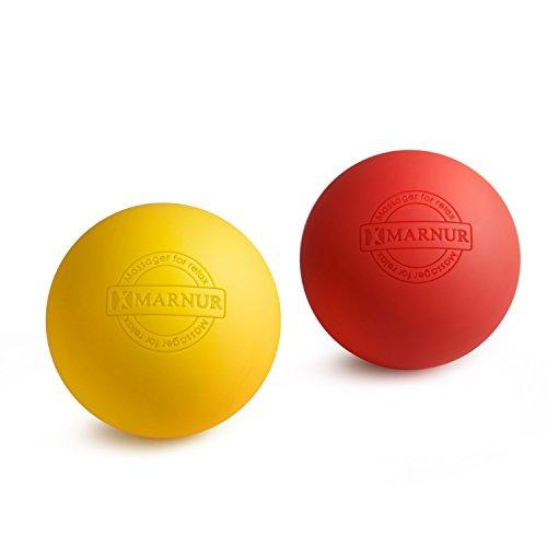 MARNUR マッサージボール ストレッチボール トリガーポイント 筋膜リリース トレーニング 背中 肩こり 腰 ふくらはぎ 足裏 ツボ押しグッズ 2で1組み合わせ