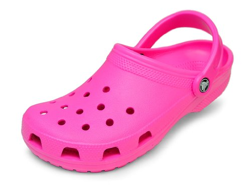 [クロックス] crocs Classic (クロックス クラシック) ★ 新色 ★ (M7/W9(25cm), ネオンマゼンタ)
