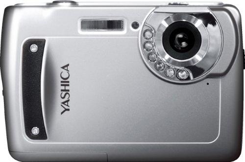YASHICA 赤外線ナイトモード搭載 6×IR デジタルカメラ EZ Digital F537IR シルバー 35240