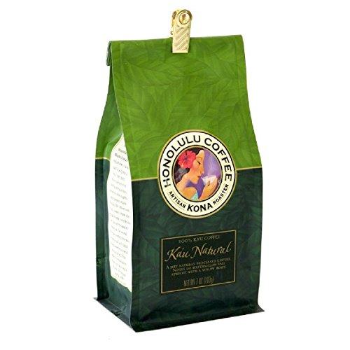 【ホノルルコーヒー】 カウ・ナチュラル・ピーベリー 200g 選択,Ground(挽いた豆)