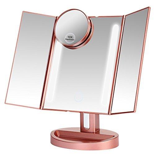 LED三面鏡は女性に人気