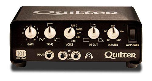 Quilter ( クイルター ) ◆ 101-MINI HEAD 50W コンパクト/軽量ギターヘッドアンプ◆ 『並行輸入品』 【440g~】超小型アンプ特集!小さく持ち運びも楽で良い音のする安い小型ヘッドアンプ!