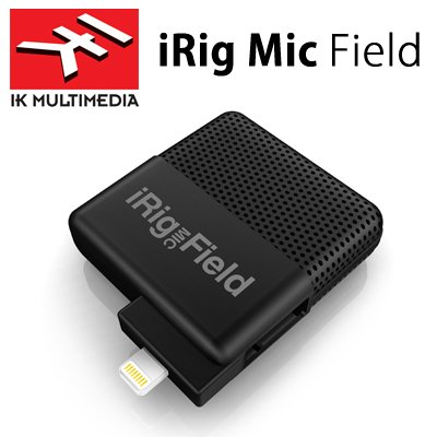 【日本正規代理店品】IK Multimedia iRig Mic Field Lightning接続 24-bit デジタルステレオマイク IKM-OT-000041